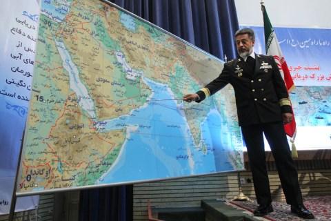 Iran's Navy Commander Admiral Habibollah