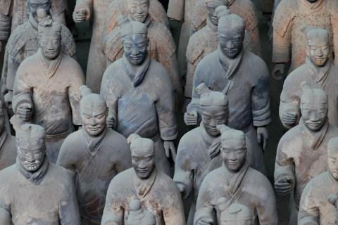China Starts New Excavation Of Terracotta Warriors