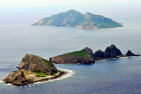 Part of the disputed islands in the East China Sea, known as the Senkaku Islands in Japan, Diaoyu in China. Reuters