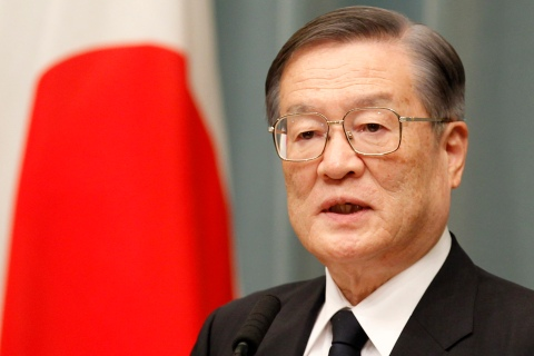 Japan Defense Minister Satoshi Morimoto