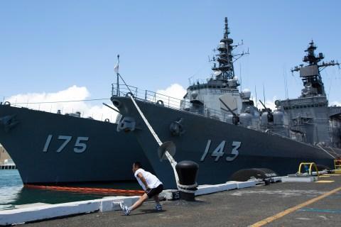Japan Maritime Self-Defense Force ships
