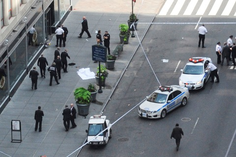 Shooting Outside the Empire State Building