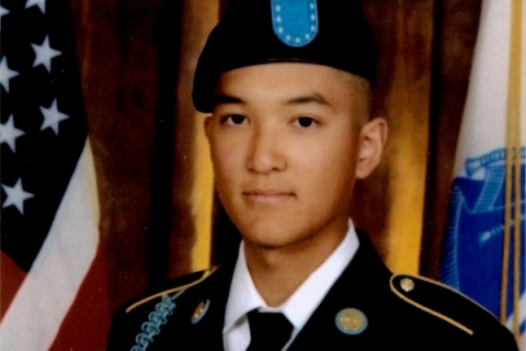 Private Danny Chen, in an undated Army Photo.