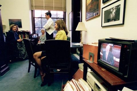 MCCAIN'S DAY--As Sen. John McCain, R-Ariz., makes his openin