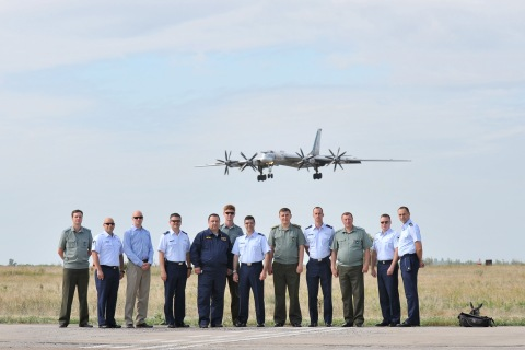 2nd Bomb Wing visits Russia