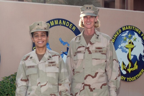 Senior Women SWOs Provide Insight and Mentorship in Bahrain