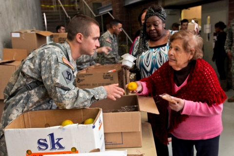 NJNG help New Jerseyians during Hurricane Sandy