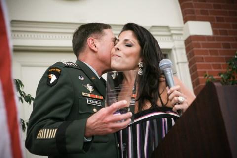 Gen. David Petraeus and Jill Kelley