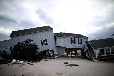 One Month After Sandy: Where the Storm Came Ashore