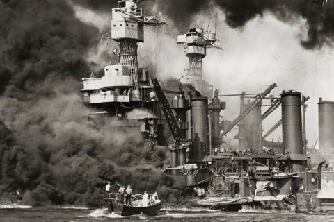 Pearl Harbor Being Attacked