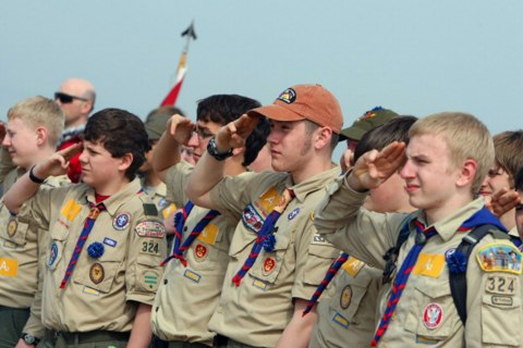 Image: Scouts Salute