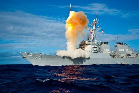 Stellar Avenger successful ballistic missile defense intercept.
