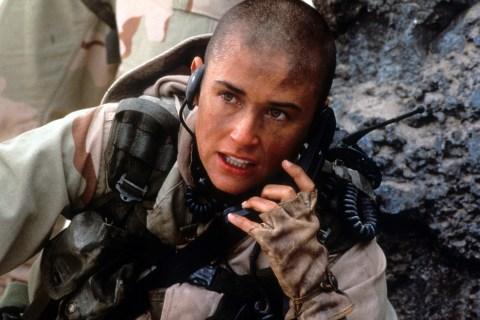 Demi Moore In 'G.I. Jane'
