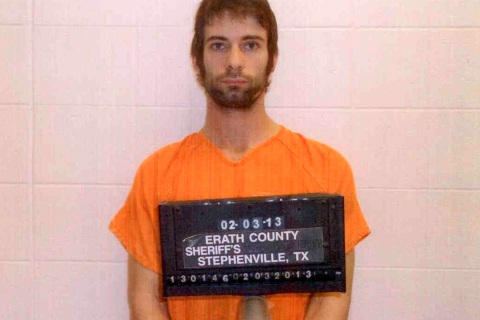 Booking photo Eddie Ray Routh