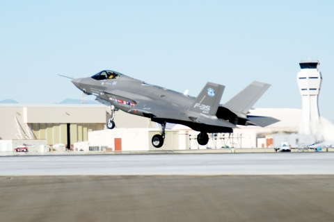 Nellis officials plan for F-35's opportunities, challenges