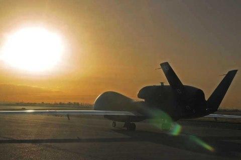 1st Global Hawk lands in Guam