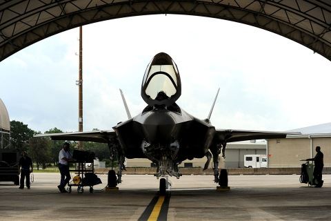 F-35A Lightning II joint strike fighter from the 33rd Fighter Wing atEglin Air Force Base, Fla.