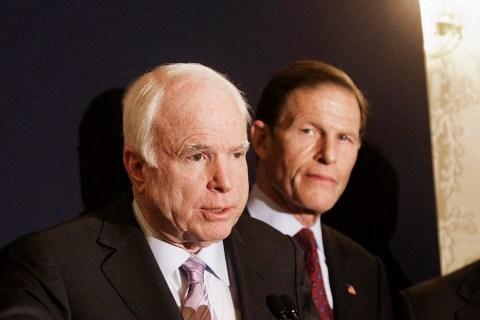 US Senator John McCain (C, republican/Ar