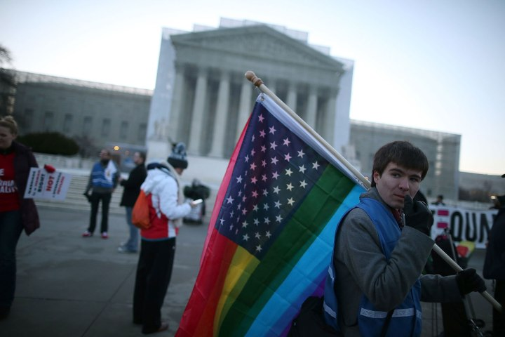 Divided: Same-Sex Marriage Demonstrations