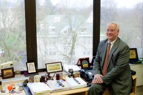 Ed Ray, president of Oregon State University