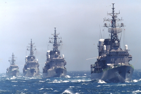 four destroyers