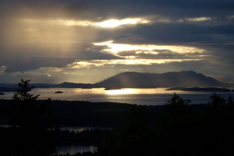 San Juan Islands in Washington State