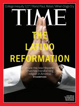 TIME Magazine Cover, April 15, 2013