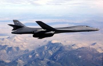 B-2 Aircraft.  USAF Photo by SSgt Mark A. Borosch