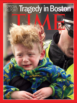 The cover of TIME's digital edition, a Special Report on the Tragedy in Boston Read more: http://lightbox.time.com/2013/04/16/a-photographers-view-of-the-carnage-when-i-look-at-the-photos-i-cry/#ixzz2Qmby1zrG