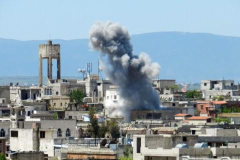 SYRIA-CONFLICT-ALEPPO-MOSQUE