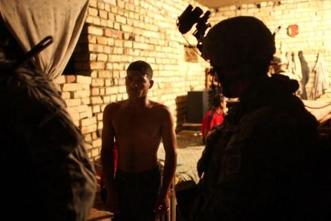 U.S. Military Patrols In Baghdad