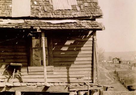 Negro house, Tupelo, Mississippi, 1936