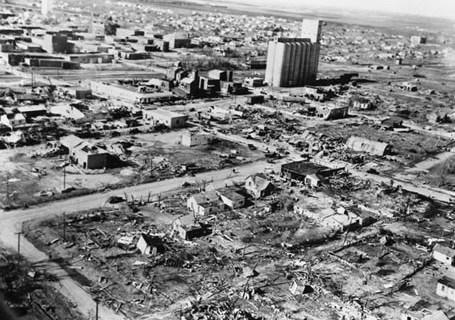 Woodward Oklahoma Tornado Damage