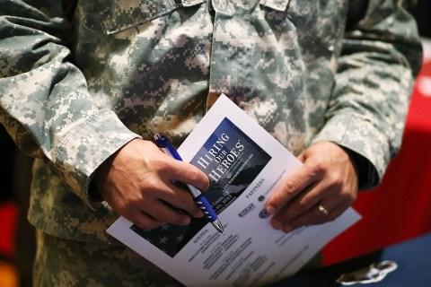 US Dep't Of Commerce Hosts Hiring Our Heroes Job Fair For Veterans