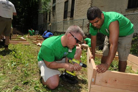 Justin Constantine and Jorge Calixto Service Event