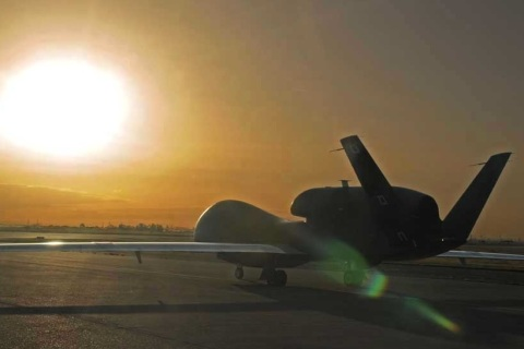 1st Global Hawk lands in Guam