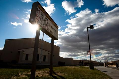 Desert Trails Elementary, in Adelanto, Calif., on Feb. 16, 2012.