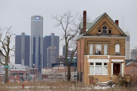 The General Motors world headquarters in Detroit, Feb. 24, 2013.