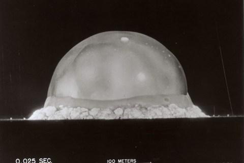 First Nuclear Test 0.025 Sec