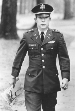 Lt. William Calley arrives for his court martial in 1971 at Fort Benning, Georgia.