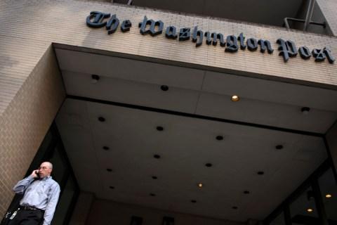 The Washington Post building in Washington, D.C., on Aug. 5, 2013.
