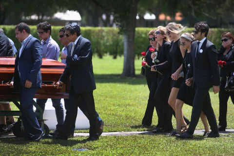Funeral Held For Miami Teen Killed By Police Taser