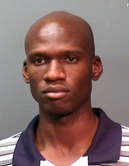 A mug of Aaron Alexis, arrested in September, 2010, on suspicion of discharging a firearm in the city limits.