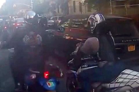 Bikers SUV Assault
