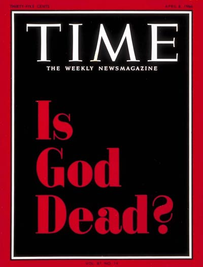 Time Magazine Is God Dead