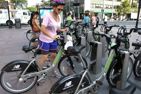 Boston Mobilizes With Hubway Bike Share