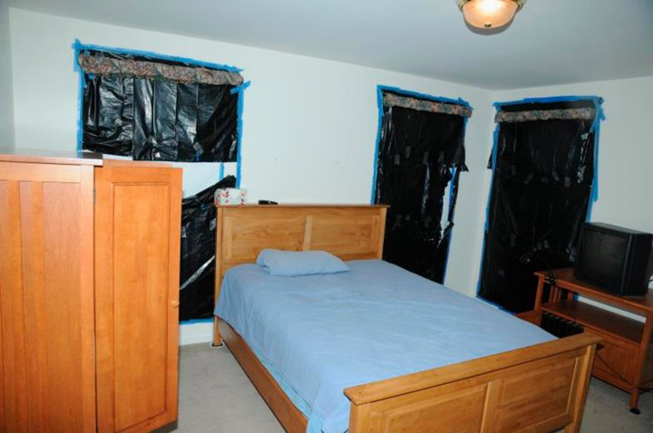 The bedroom of Sandy Hook Elementary school gunman Adam Lanza in Newtown Connecticut is seen in this police evidence photo