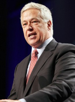 U.S. Rep. Mike Michaud, speaks during the Maine Democratic Party Convention in Lewiston, Maine, in 2010.