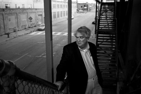 Professor John McAdams near Marquette University in Milwaukee, on  Oct. 24 2013.