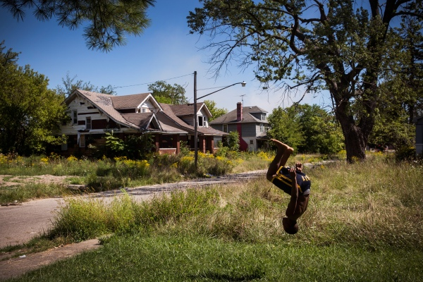 Detroit Struggles To Re-Build A Bankrupt City Amidst Poverty And Blight
